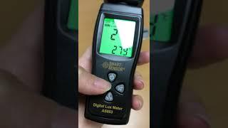 Люксметр и термометр цифровой AS803 от компании Alexel - видео