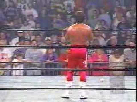 WCW Nitro - Sting walks out on Nitro