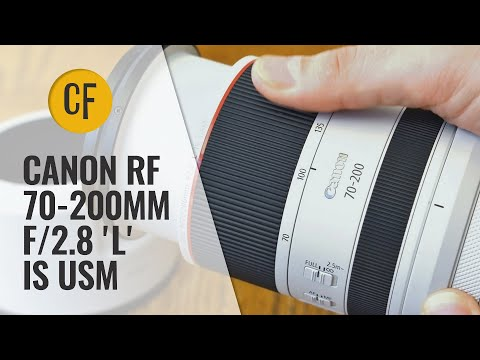 External Review Video dituzmm4VvU for Canon RF 70-200mm F2.8L IS USM Lens