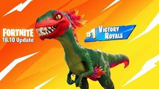 Fortnite New Dinosaur Update Gameplay! (Fortnite New Update)