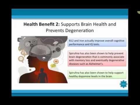 Video Spirulina 101: The Health Benefits of Spirulina
