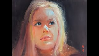 Full process of a portrait   4/4