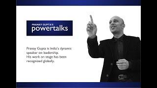 Pranay's PowerTalks / MysticTalks: Glimpses