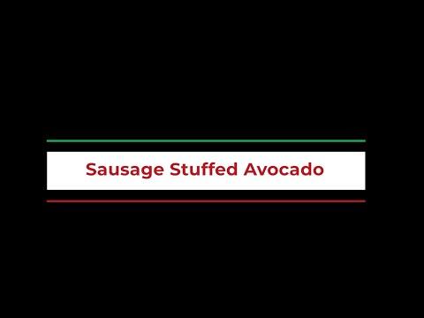 Sausage-Stuffed Avocado Boats