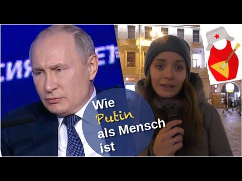 Wie Putin als Mensch ist [Video]