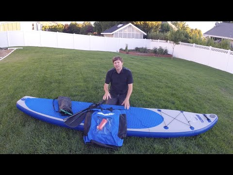 Sea Eagle Longboard 126 Stand-up Paddle Board Review
