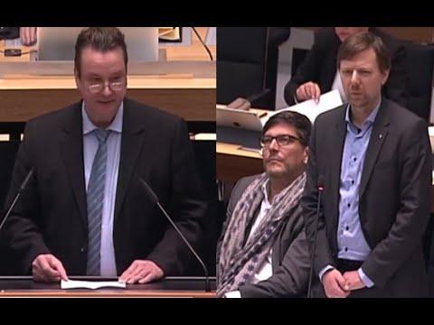 Fragestunde: Andreas Wild bringt linken Staatssekretär Tietze zum Zittern