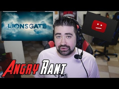 Lions Gate will manually copyright claim your youtube videos if you talk bad about their movies on YouTube.