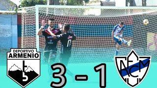 Primera C : ARMENIO 3 - 1 MIDLAND (Los Goles)