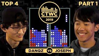 2019 CTWC Classic Tetris Semifinal 1 - JOSEPH vs. DAN QZ