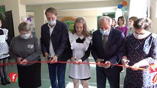 В посёлке Иванищи Гусь-Хрустального района открыли центр «Точка роста»