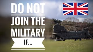 Top 5 Reasons NOT To Join The British Army