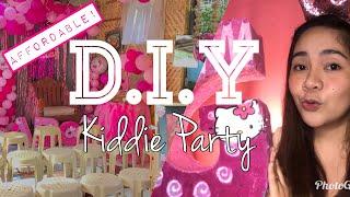 HELLO KITTY THEMED BIRTHDAY PARTY DECORATIONS HAUL  | SHOPEE HAUL |NAOMIE