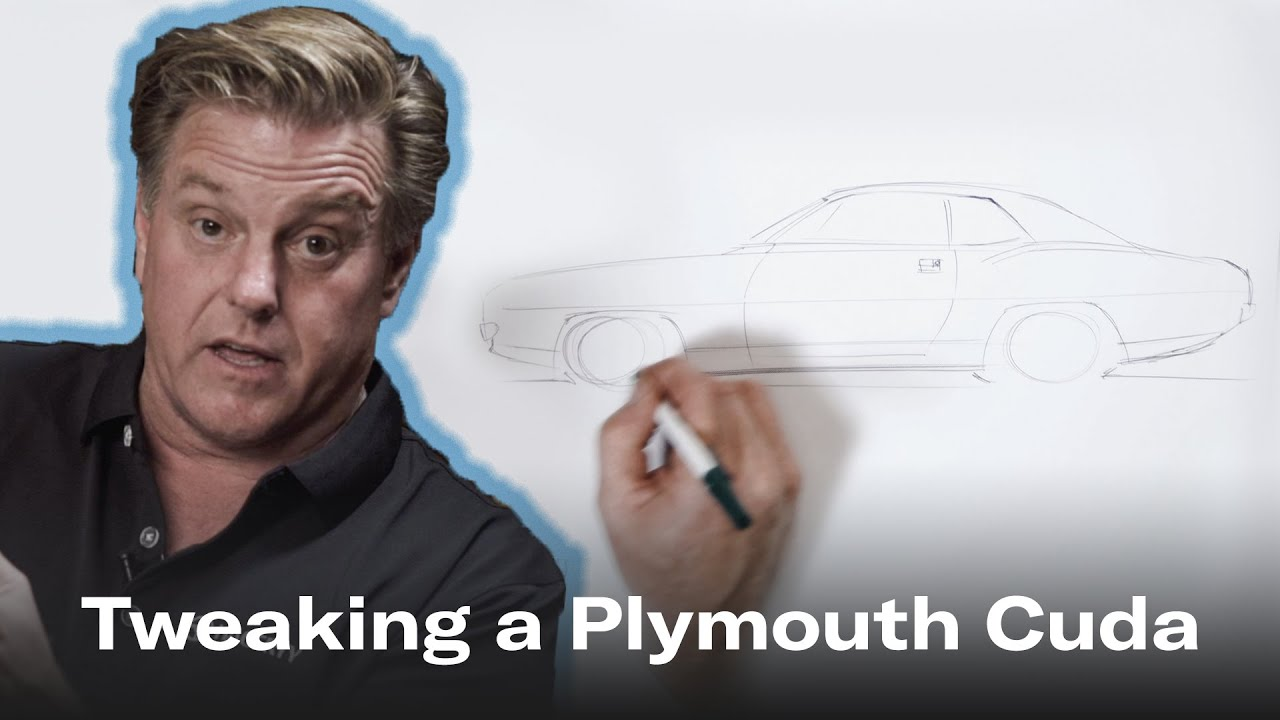 Watch Chip Foose tweak 3 design details on the 1970 Plymouth Cuda