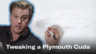 Chip Foose Tweaks The Design Of The 1970 Plymouth Cuda | Chip Foose Draws A Car - Ep. 3