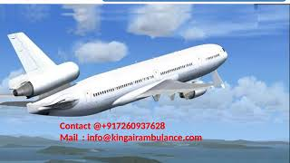 Get Quick Air Ambulance Services in Varanasi and Siliguri