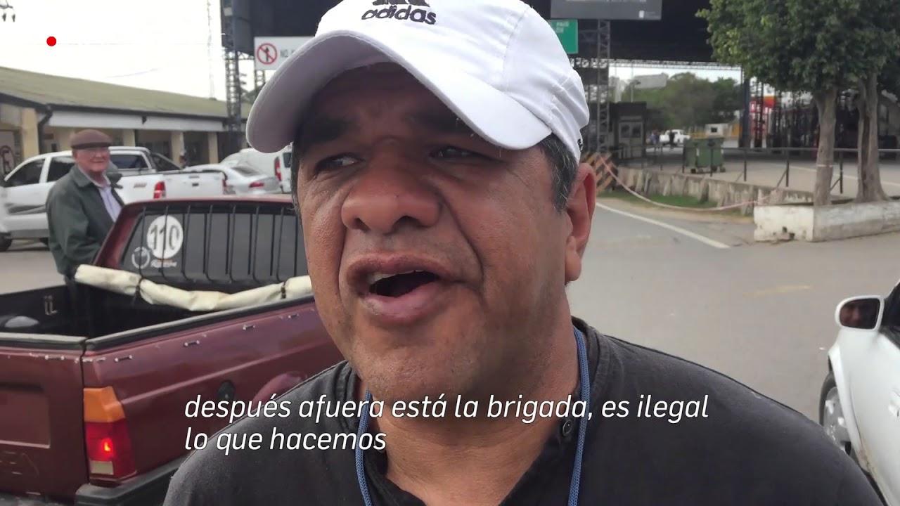 Llegamos al límite del delito, en la frontera de Argentina y Paraguay