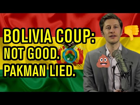 David Pakman Is Wrong About Bolivia: Let's Not Be Useful Idiots | BadEmpanada