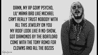 Psycho - Post Malone ft. Ty Dolla $ign (Lyrics) 🎵