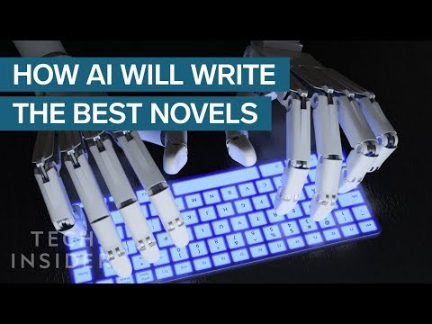 Here's How AI Could End Up Writing The Best Novels