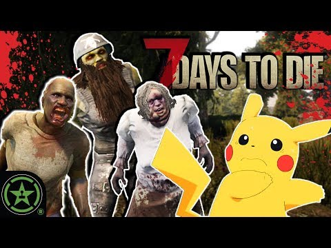 Do People Eat Pokemon? - 7 Days to Die (Part 7) | Live Gameplay
