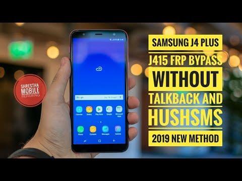Samsung j415f (J4 plus) frp bypass new method  Talkback failed