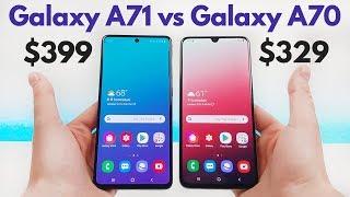 Samsung Galaxy A71 vs Samsung Galaxy A70 - Who Will Win?