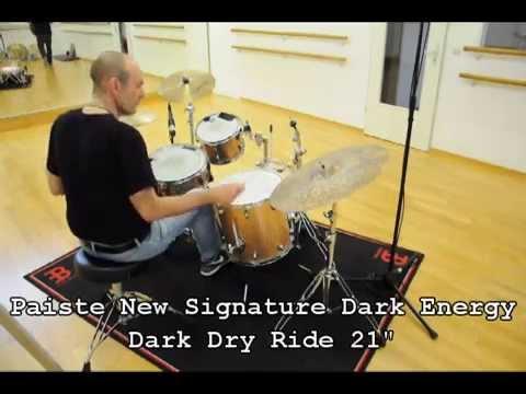 12 Ride Cymbals in direct comparison (Paiste, Zildjian, Istanbul, Tosco, Zilco)