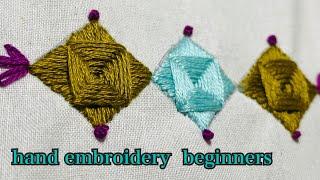 【基本刺繍ステッチ】Hand Embroidery Stitches For Beginners