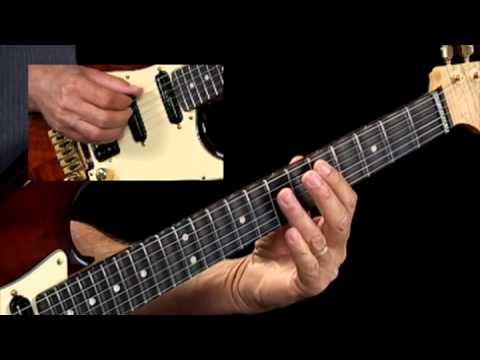 Slash Chord Progressions - #3 D Bb/D C/D - Guitar Lessons - Brad Carlton