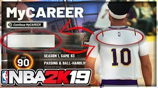 How To Fix The Missing Name Glitch On NBA 2k19 Tutorial