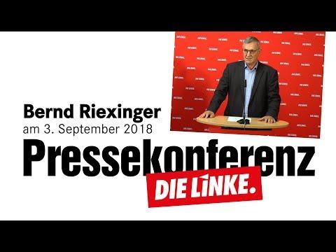 Bernd Riexinger: Es muss jetzt ein Ruck durch die Gesellschaft gehen.