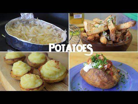 Video 10 Creative Recipes Using Just a Potato (Part 1)