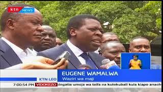 Viongozi watuma risala za rambirambi kufuatia kifo cha Francis Nyenze