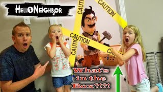 Hello Neighbor in Real Life! Crate Creatures Toy Scavenger Hunt & Secret Mystery Box Found!