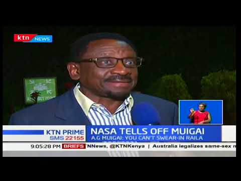 James Orengo dismisses AG Githu Muigai's warning