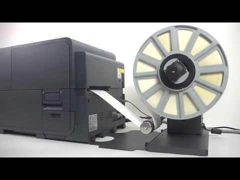 Astronova QL-120  - Farbetikettendrucker mit schnellem Inkjetdruck für kleine Etiketten