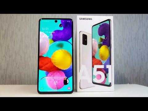 Бюджетный камерофон 2020 года Samsung galaxy A51