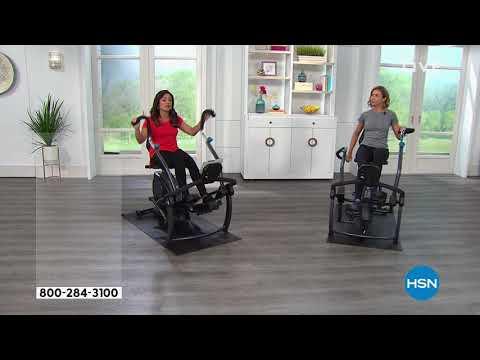 Teeter FreeStep Recumbent Cross Trainer with Floor Mat
