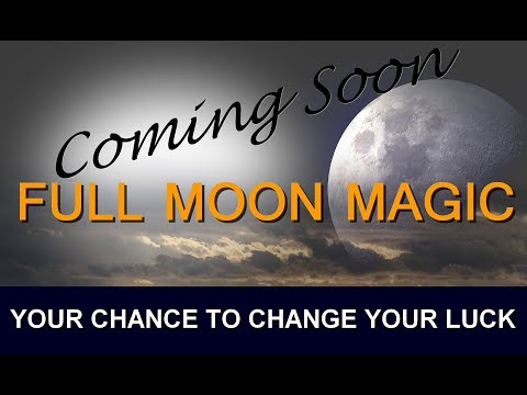 Full Moon Spells that work with the Law of Attraction