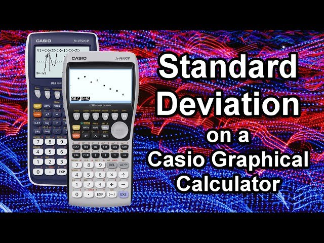How would i use standard deviation?