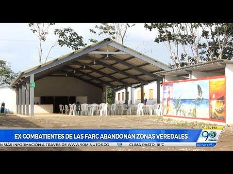 300 excombatientes de las Farc abandonaron de zona veredal de Tumaco