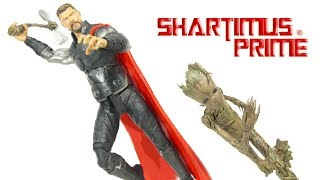 Marvel Select Thor And Groot Avengers Infinity War Diamond Select Toys Action Figure Review