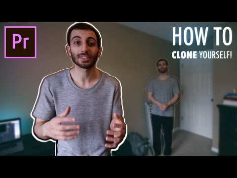 How to Clone Yourself in Adobe Premiere Pro! (CC 2017 Tutorial)