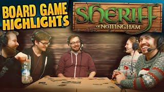 Board Game Highlights! #4 - Sheriff of Nottingham