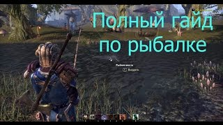 The elder scrolls online tamriel unlimited рыбалка