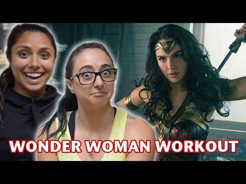 WE TRIED WONDER WOMAN'S WORKOUT (feat. Michelle Khare)
