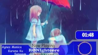 Agnes Monica -    Karena Ku Sanggup [Nightcore]