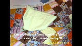 Antique Quilt Restoration Part II