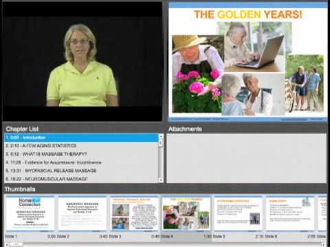 Geriatric Massage: Evidence Based Approach to Improve Functional ...